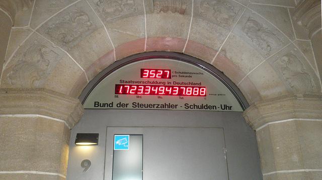 schuldenuhr berlin