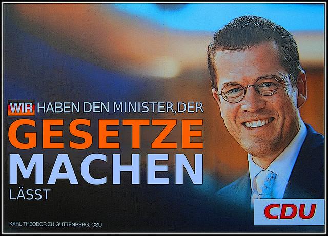 Wahlkampfplakat CDU 2000