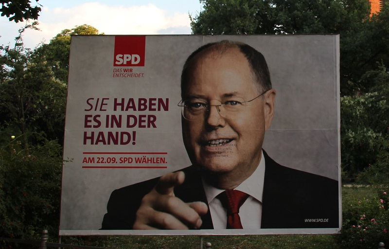 SPD Wahlkampfplakat