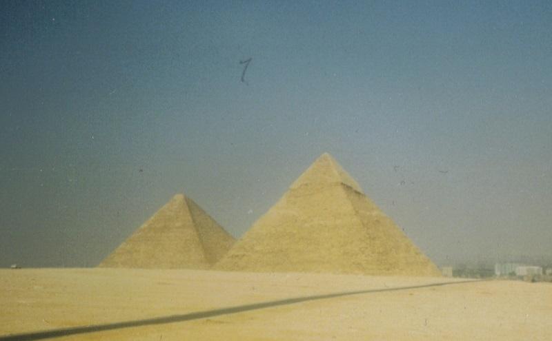 Pyramiden-Ägypten